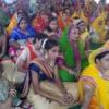 भागवत कथा कृष्ण जन्मोत्सव की झांकियों की प्रस्तुति
