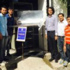 पेसिफिक के छात्रों ने बनाया पैराबोलिक सोलर वाटर हीटर