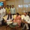 हरियाणा के पूर्व मुख्यमंत्री हुड्डा का उदयपुर में स्वागत