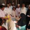 ईद पर 100 जरूरतमंदों का बांटी राशन सामग्री