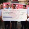 बैंक ऑफ बड़ोदा ने पार्क के लिए दिए पन्द्रह हजार रुपए