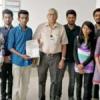 आर्मी वेलफेयर फंड में पेसिफिक छात्रों ने दिया योगदान