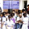 चिकित्सा शिविर में 912 बच्चों का स्वास्थ्य परीक्षण