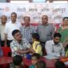 500 बच्चों का स्वास्थ्य परीक्षण