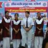 नैतिक गीत गायन में विद्यालयों ने उत्साह के साथ लिया भाग