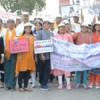 चिकित्सकों के साथ जेएसजी मेवाड़ ने निकाली जागरूकता रैली