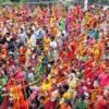 पाटोत्सव पर कावड़यात्रियों ने किया अभिषेक