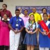 अन्तर विद्यालयी देशभक्ति भाषण स्पर्धा में बेटियों को बचाने पर बल