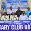 रोटरी क्लब उदयपुर का 40 लाख का प्रस्तावित बजट पेश
