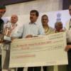 पलाश वैश्य जयपुर में सम्मानित