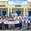 55 विद्यार्थियों को गणवेश वितरित