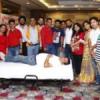 102 यूनिट ब्लड एकत्र, 100 से अधिक रोगियों की जांच
