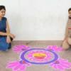 रंगोली, मेहंदी, दीया डेकोरशन व टेटू मेंकिग प्रतियोगिता