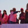 कैंसर जागरूकता को लेकर दौड़ी 600 महिलायें