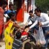 रोटरी पन्ना ने कच्ची बस्ती में बच्चों के साथ मनाया बाल दिवस