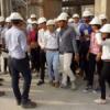 पेसिफिक पॉलीटेक्निक छात्रों का जेके सीमेंट में औद्योगिक भ्रमण
