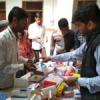 चिकित्सा शिविर में 197 रोगियों का निःशुल्क उपचार