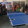महिलाओं ने विद्यालय में भेंट किया टेबल टेनिस एवं खेल सामग्री