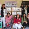 क्रिसमस परियोजना में गरीबों के लिये दिये 400 वस्त्र