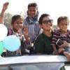 झुग्गी झोपड़ी के बच्चों ने महंगी कारों में किया सफर