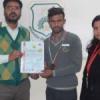 मिरेण्डा स्कूल के लक्षित पालीवाल ने जीता स्वजर्ण पदक