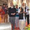 महाकाल में भी मनाई सरस्वती जयंती