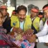 550 से अधिक बच्चों को पिलाई पल्स पोलियो की दवा