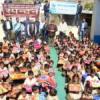 रोटरी उदयपुर ने आलोक स्कूल के साथ 100 बच्चों को दी कम्बलें