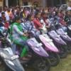 250 बालक- बालिकाओं को लेपटॉप, 180 बालिकाओं को स्कूटी वितरित