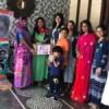 सात महिलाओं को रोजगार के लिये दी सिलाई मशीनें