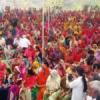 1500 से अधिक महिला 'सखियों' ने हर्षोल्लास से की भागीदारी
