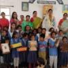 महिलाओं ने राजकीय विद्यालय को बनाया छठां हैप्पी स्कूल