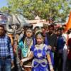 शोभायात्रा में राम-लक्ष्मण-हनुमान और शिव-पार्वती की झाकियों ने किया मुग्ध