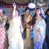 रेम्पवॉक, राजस्थानी एवं पंजाबी रिमिक्स पर थिरके छात्र-छात्राएं