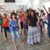 बच्चों ने धर्म,योग एवं कलाकृतियों के साथ लिया नृत्य का प्रशिक्षण