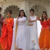 योग थीम पर हुआ योग व ध्यान के साथ फैशन शो