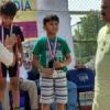 यक्ष रावत ने अन्डर-6 में जीता सिल्वर मेडल