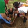 महावीर इन्टरनेशनल ने रोपे 1 हजार पौधे