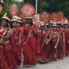 शिव मुनि चातुर्मास : अनेक समाजों ने की अगवानी, धर्मसभा में उमड़ी जनमेदिनी