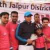 उदयपुर के स्केटिंग खिलाड़ी जयपुर में सम्मानित