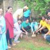 ग्रामीणों को पौधे वितरीत कर पौधरोपण हेतु किया जागरूक