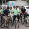 पयार्वरण संरक्षण का संदेश देने राउण्ड टेबल इण्डिया ने निकाली साईकिल रैली