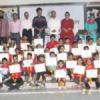 उदयपुर के 103 स्केटर सम्मानित