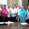 नेशनल लान टेनिस में रजत जीतने पर दीपांकर सम्मानित