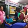 रक्तदान शिविर में 50 यूनिट रक्तदान