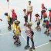 80 बच्चे रिवर्स स्केटिंग पर 28 को बनायगे विश्व रिकॉर्ड'