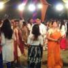 गरबा में दिया नृत्य नाटिका से रक्तदान जागरूकता का संदेश
