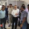 रेल मंडल प्रबंधक ने किया उदयपुर स्टेशन का निरीक्षण