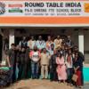 राउण्ड टेबल के गोद लिए स्कूल में तीन कक्षाकक्षों का उद्घाटन