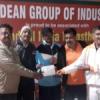 दीपांकर ने वेटरन्स टेबल टेनिस टूर्नामेन्ट का युगल खिताब जीता